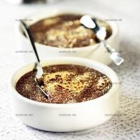 photo recette Crème brûlée au chocolat