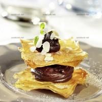 photo recette Croustillant filo au chocolat