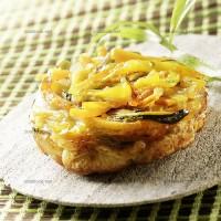 photo recette Tatin de légumes parfumés à l'estragon
