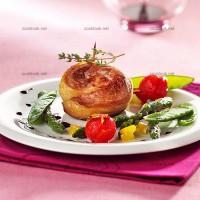 photo recette Spirale de canard et petits légumes