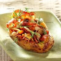photo recette Pomme de terre aux champignons