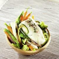 photo recette Cabillaud et ses légumes