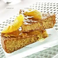 photo recette Moelleux à l'orange