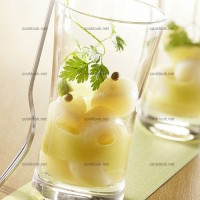 photo recette St Jacques au citron vert et à la coriandre