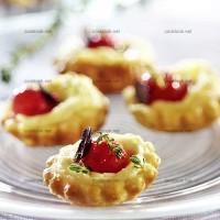 photo recette Mini tartelettes provençales
