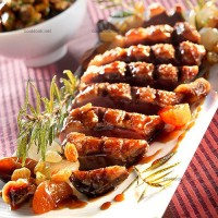 photo recette Magrets de canard aux fruits secs