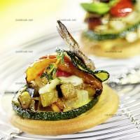 photo recette Bouchées aux légumes