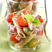 photo recette Salade fraîche de pennes au blé complet