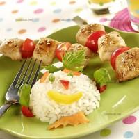 photo recette Brochettes de poulet au citron