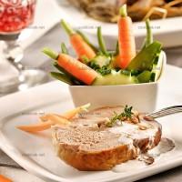photo recette Epaule d'agneau et petits légumes croquants