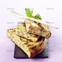 photo recette Galettes de crêpes au jambon