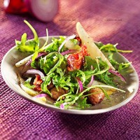 photo recette Salade sucrée salée
