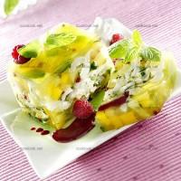 photo recette Terrine de fruits exotiques