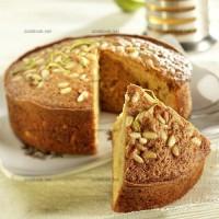 photo recette Gâteau aux pignons et citrons verts
