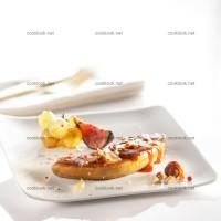 photo recette Escalope de foie gras aux fruits caramélisés