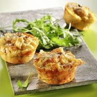 photo recette Pomponettes au Morbier et tomates séchées