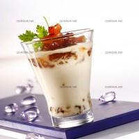 photo recette Panna cotta au foie gras et chutney de mangue