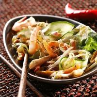 photo recette Salade pleins saveurs