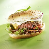 photo recette Hamburger au cheddar