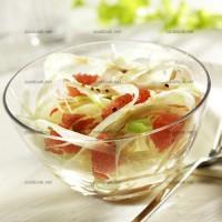 photo recette Fenouils et pamplemousses roses au sirop d'érable