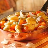photo recette Gnocchis et potiron au parmesan