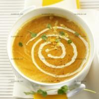 photo recette Soupe de carottes parfumées à l'orange et au gingembre