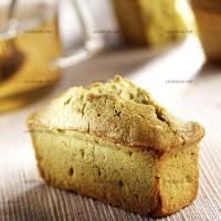 photo recette Petits cakes au thé matcha