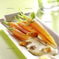photo recette Jeunes carottes et sauce au soja