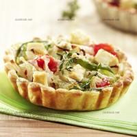 photo recette Tartelettes de tofu aux légumes