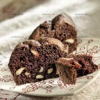 photo recette Cake moelleux chocolat amandes