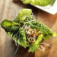 photo recette Paupiette de chou vert